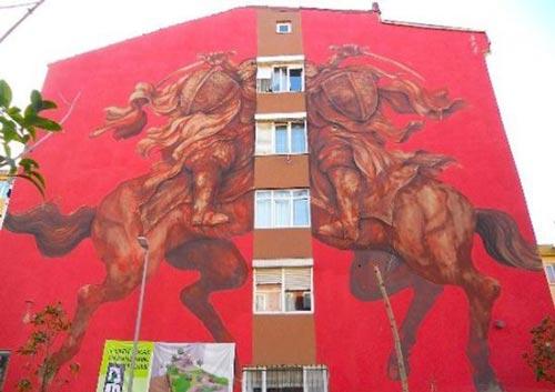 آلبوم زیباترین نقاشی های خیابانی