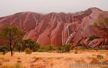 سفری خاطره انگیز به آبشار آیرز راک در استرالیا (عکس)