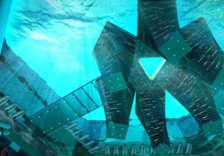 ساخت یک شهر زیر آب در چین (عکس)