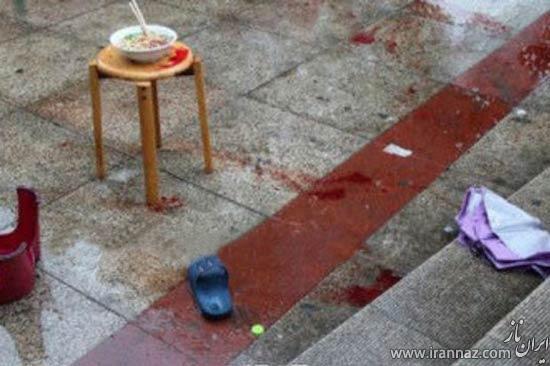 جنایت وحشتناک مرد چینی فقط برای چند رشته ماکارونی! (عکس)