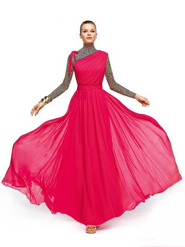 مدل شیک لباس مجلسی 2014 (عکس)