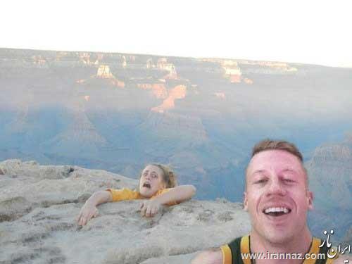 عکس های خنده دار از سوژه های جهانی (قسمت اول)