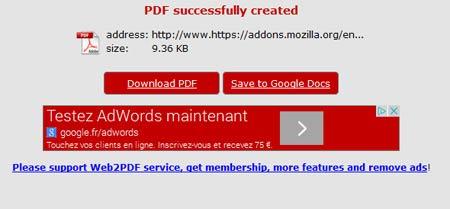 نحوه تبدیل صفحات وب به PDF