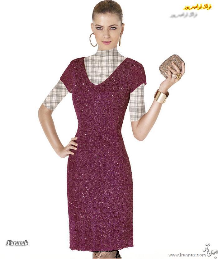 جدیدترین مدل های لباس عصر زنانه قسمت پنجم