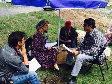 بازی مهناز افشار در یک فیلم تاجیکی (عکس)