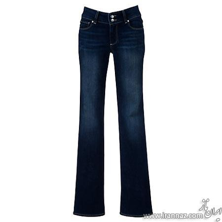 مدل هایی از شلوار جین دم پا گشاد (عکس)