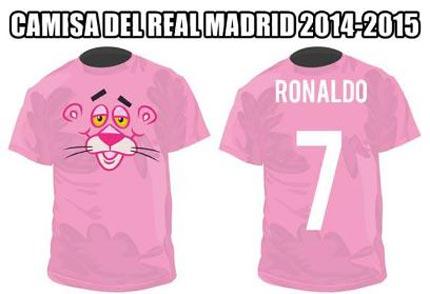 تمسخر کردن لباس رئال توسط نامزد رونالدو (عکس)