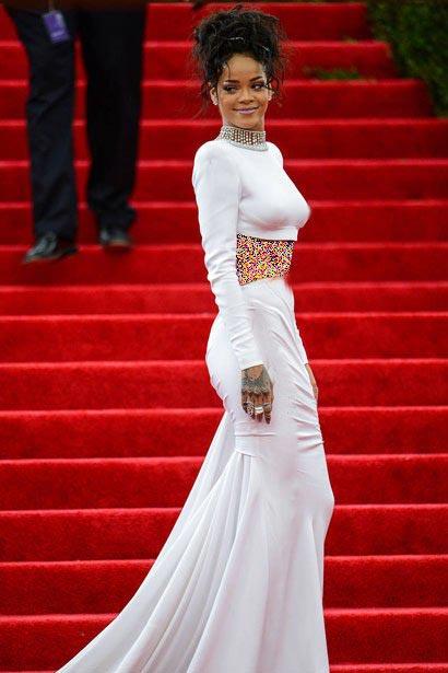 بهترین لباس های ریحانا در سال 2014 به پیشنهاد مجله Elle