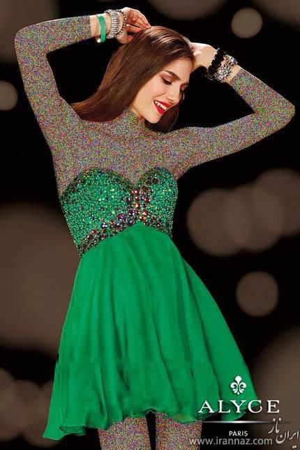 مدل های شیک لباس مجلسی کوتاه (عکس)