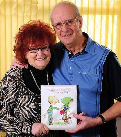 هدیه ویژه پیرمرد 71 ساله به همسرش (عکس)