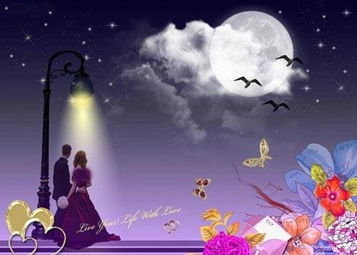 رمانتیک ترین عکس های عاشقانه