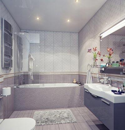 طراحی شیک دکوراسیون سرویس بهداشتی (عکس)