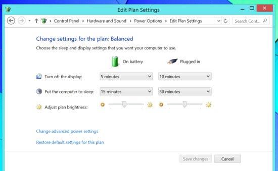 ترفندی برای افزایش عمر شارژ در ویندوز 8