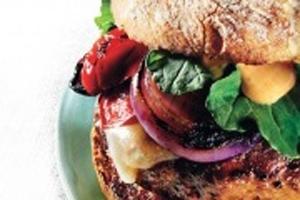همبرگر بوقلمون و نحوه تهیه آن