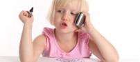 نگذارید کودکان با گوشی موبایل به رختخواب بروند