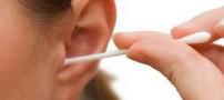 از گوش پاک کن استفاده نکنید