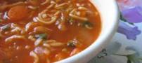 از هویچ و اسفناج برای سوپ استفاده نکنید
