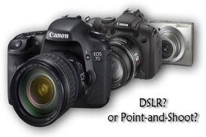 راهنمای انتخاب برای دوربین دیجیتال
