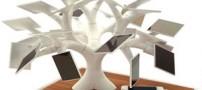 روش جالب شارژ کردن گوشی با درخت (عکس)