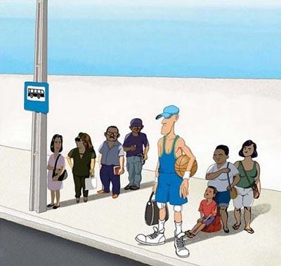 کاریکاتورهای مفهومی و پر محتوا