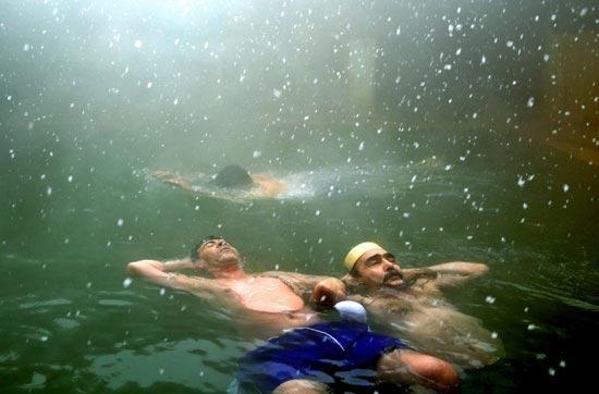 سفری دلچسب به چشمه سرعین در اردبیل (عکس)