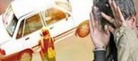 مردی که در لباس زنانه از رانندگان اخاذی می کرد دستگیر شد