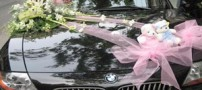 مدل شیک تزئین ماشین عروس (عکس)
