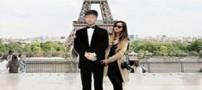 این دختر با ماکت پدرش به دور دنیا سفر کرد (عکس)