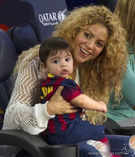 شوکه شدن رسانه های اسپانیا از دومین فرزند پیکه و شکیرا