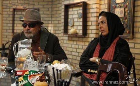 عذر خواهی کارگردان معروف از همسرش در برنامه زنده (عکس)