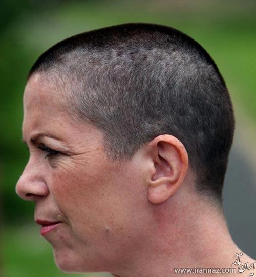 این خانم به خاطر اشتباه آرایشگر مجبور به تراشیدن موهایش شد! (عکس)