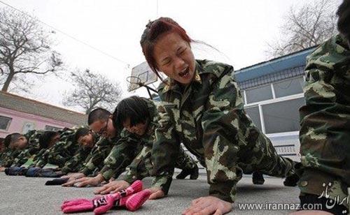 مرکز درمان اعتیاد نوجوانان به اینترنت در چین (عکس)
