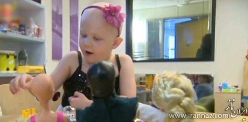 ساخت عروسک باربی برای کودکان سرطانی (عکس)