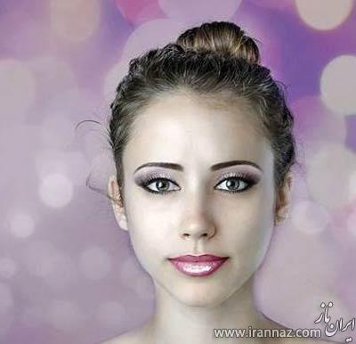 اقدام جالب یک زن برای زیبا شدن (عکس)
