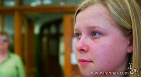 این دختر ادعا می کند که درون افراد را می بیند! (عکس)