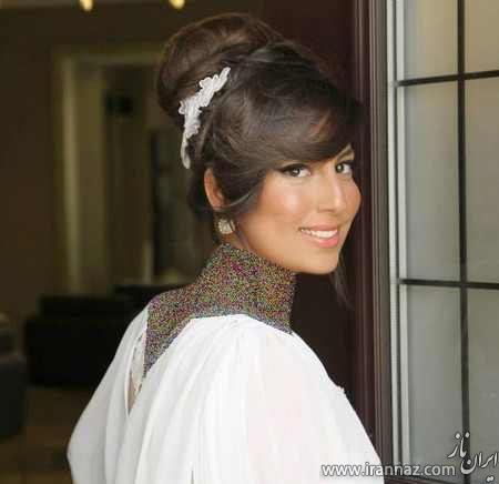 مدل موی شینیون مجلسی 2014