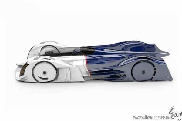 طراحی سوپر خودروی هیبریدی توسط دانش آموزان (عکس)