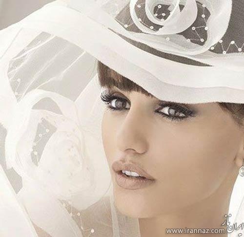 جدیدترین مدل آرایش عروس (عکس)