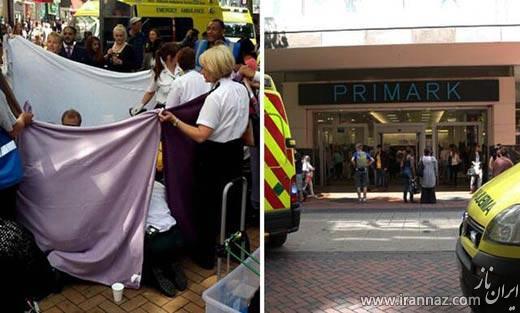 وضع حمل این خانم در خیابان! (عکس)