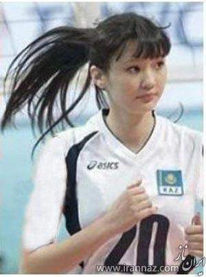 این زن والیبالیست به عنوان مظهر زیبایی انتخاب شد! (عکس)