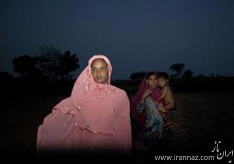 زنان این روستا از دستشویی رفتن واهمه دارند! (عکس)