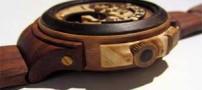 ساخت ساعت های مچی جالب با چوب (عکس)