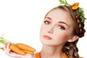 هویج میوه ای برای پاکسازی عمیق پوست