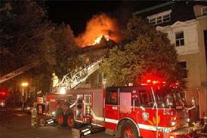 به آتش کشیدن خانه برای ترس از عنکبوت!