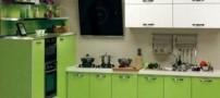 طراحی شیک دکوراسیون منزل با رنگ سبز (عکس)