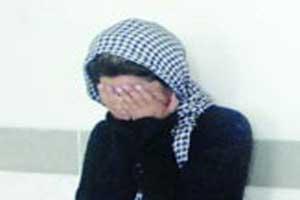 دختر جوان زورگیر دستگیر شد