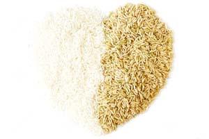 برنج سفید استفاده کنیم یا برنج قهوه ای؟