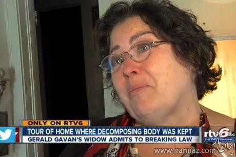 9 ماه زندگی باورنکردنی این زن با جسد همسرش! (عکس)