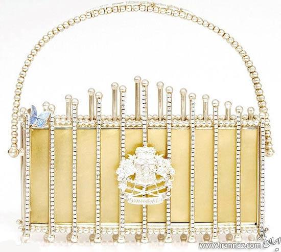 کیف گران قیمت از جنس طلا برای خانم ها (عکس)