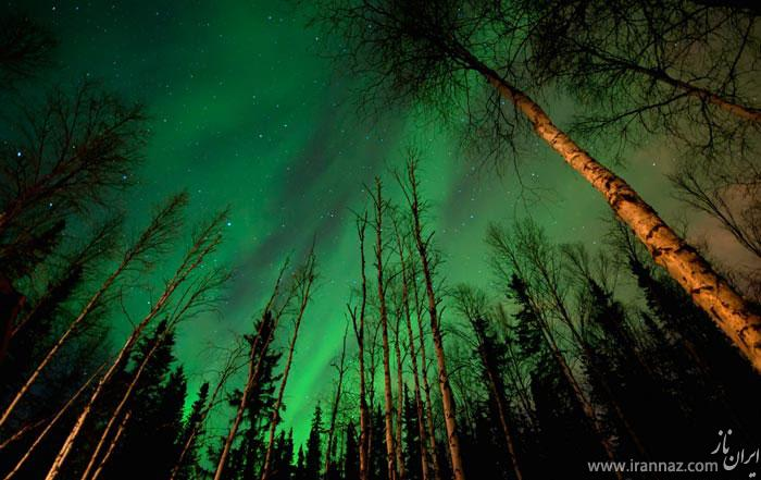 عکس های زیبا و بسیار دیدنی از پدیده شفق قطبی